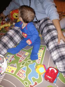 zona de juegos con mama