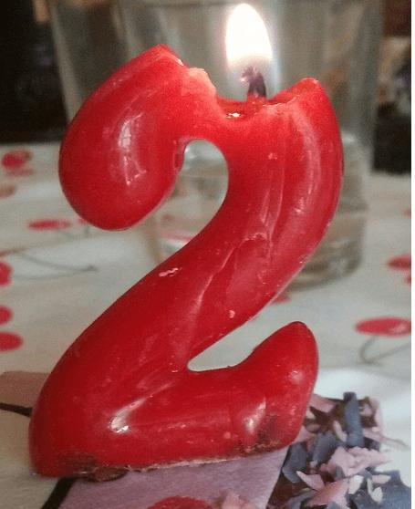 !!Segundo aniversario del blog!!