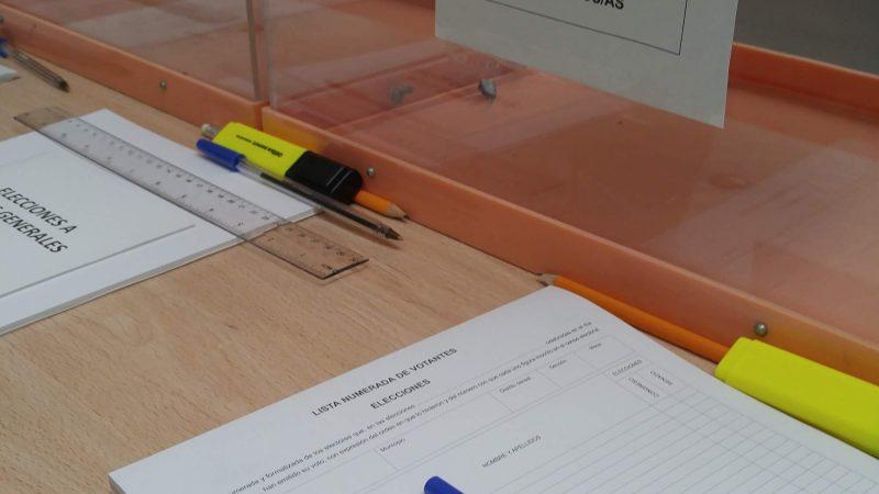 Mi experiencia como vocal en la mesa electoral