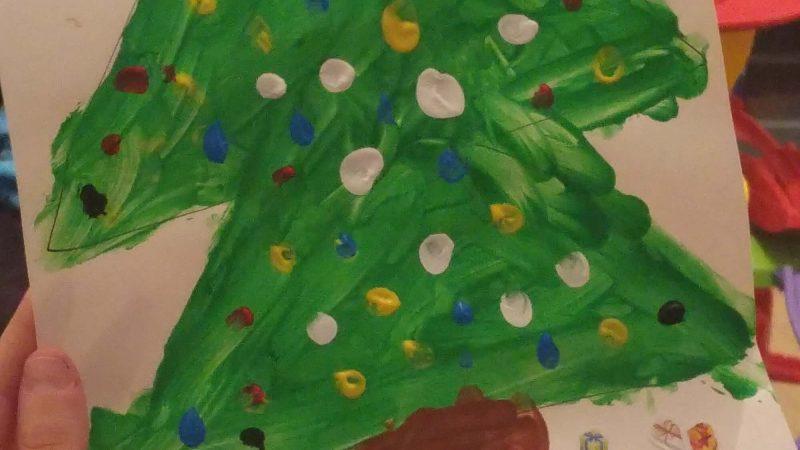 Miércoles Mudo #147:Dibujo de Navidad