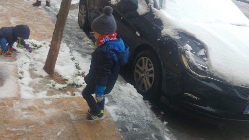 Miércoles Mudo #158: Nieve en Zaragoza